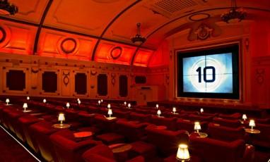 Electric Cinema, the very chic 1990 movie theatre