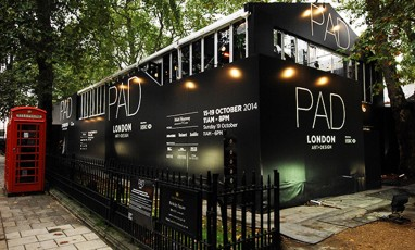 PAD London Art + Design: The Art World's Little White Tent