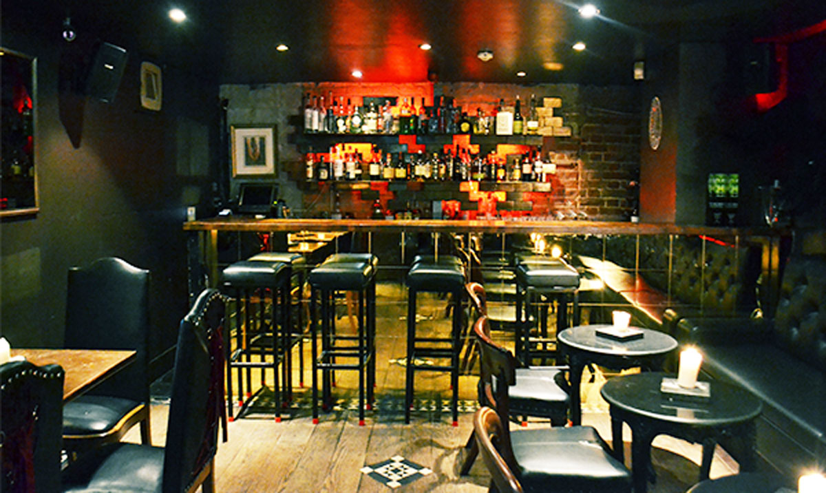 The most secret bar in shoreditch for Food bar 2015
