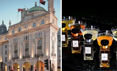 Couture drinks at the Hotel Café Royal