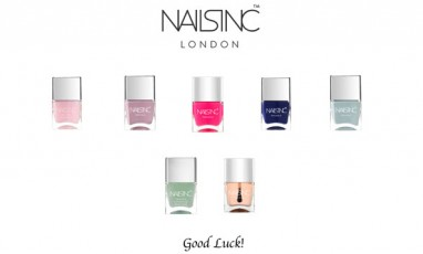 Competition Time! For the chance to win this fabulous Nails Inc selection please see below...