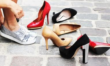SOS stilettos