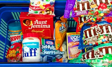 "American Food store or the ""regressive comfort food"""