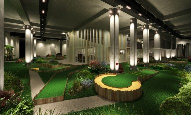 The Crazy Golf Club: Hit the Ball in Shoreditch