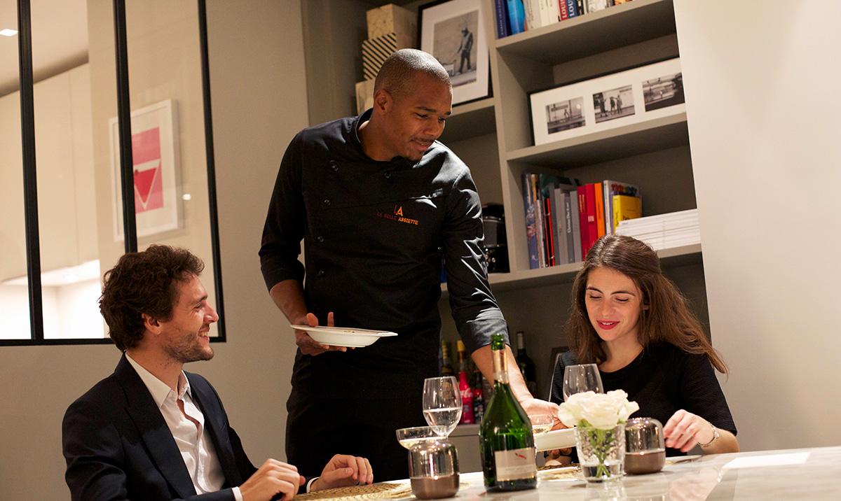 Gagnez un chef pour un d ner romantique la maison for Diner romantique a la maison