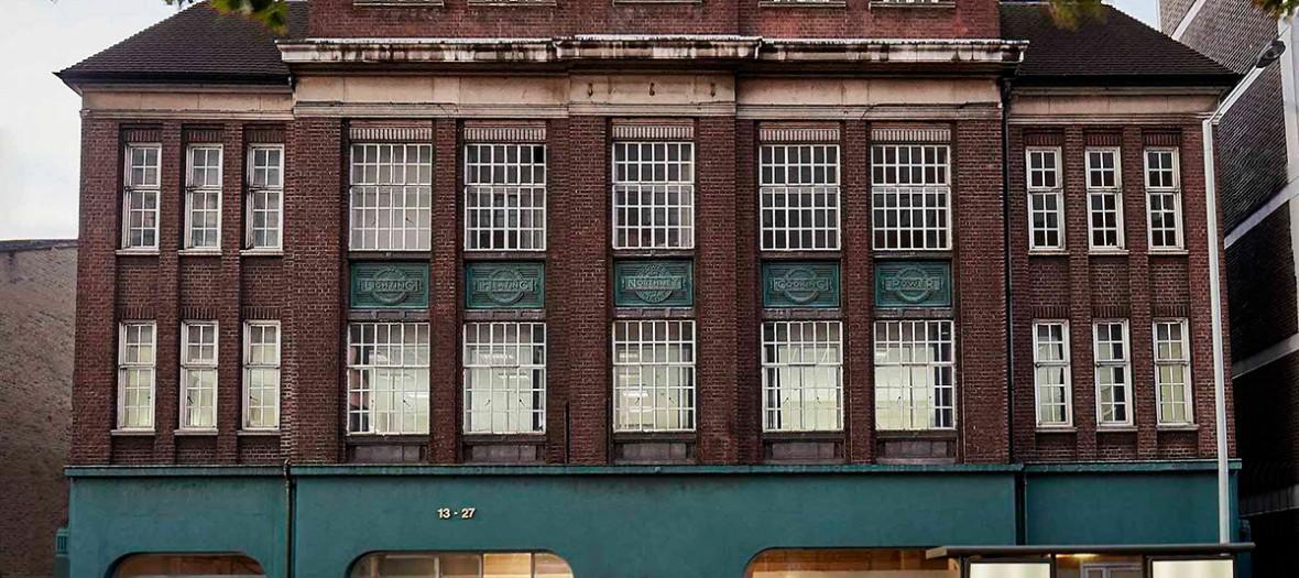 extérieur de l'établissement londonien Green Rooms