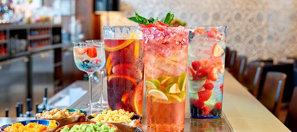 Pukka Bar's indians cocktails and bites