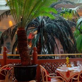 La Porte des Indes London Restaurant vintage decoration