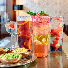 Pukka Bar's indians cocktails and bites