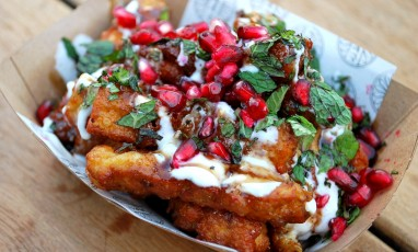 Halloumi Fries in Camden