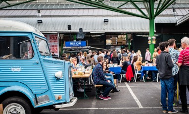 The London Pizza Festival is back to Borough Market