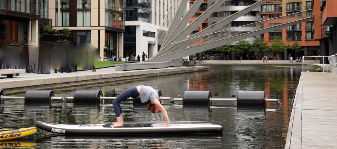 Sup Yoga Bridge