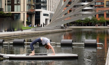 Sup Yoga Bridge