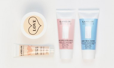 Win a Luxurious Lamilou Body Scrub and Lotion