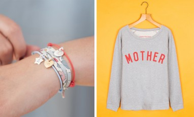 selfish mother sweat and merci maman bracelet