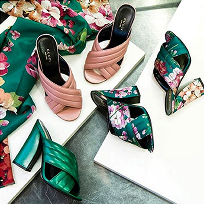 cdacf0b039bc The Spring Slide  Gucci Crossover Mule Sandal
