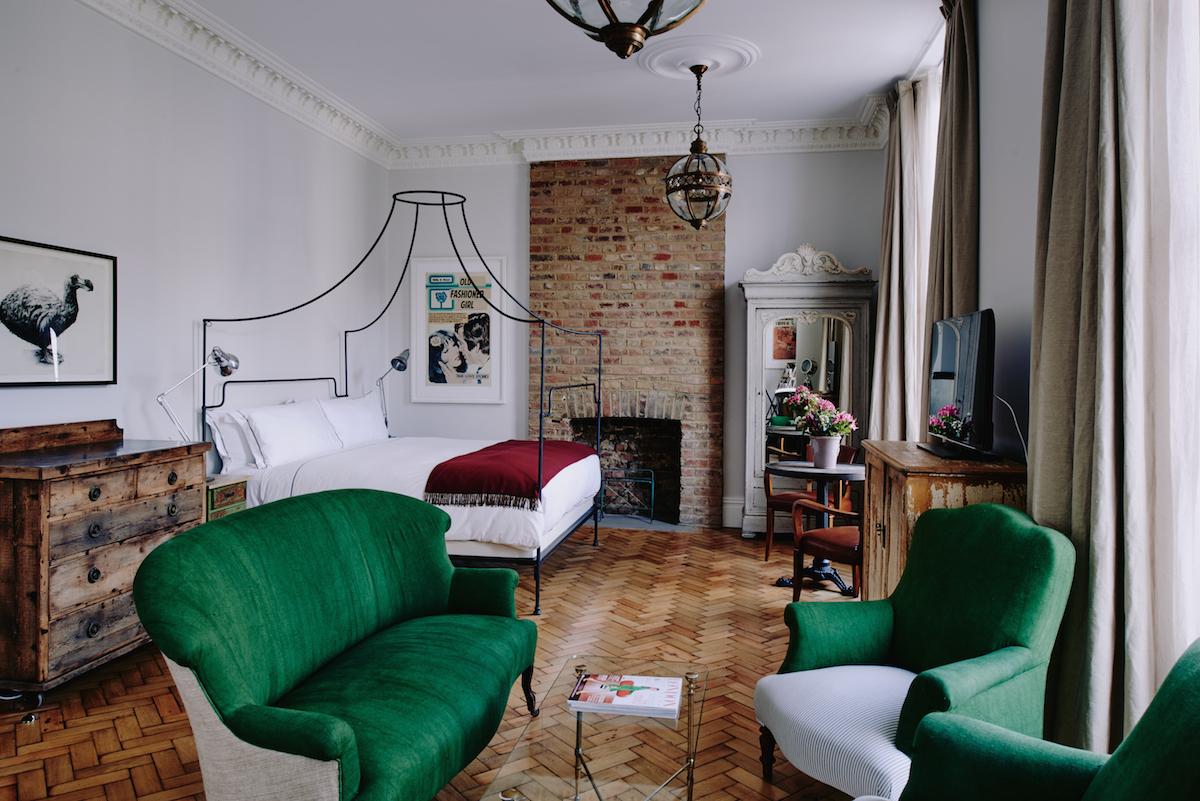Artist residence suite