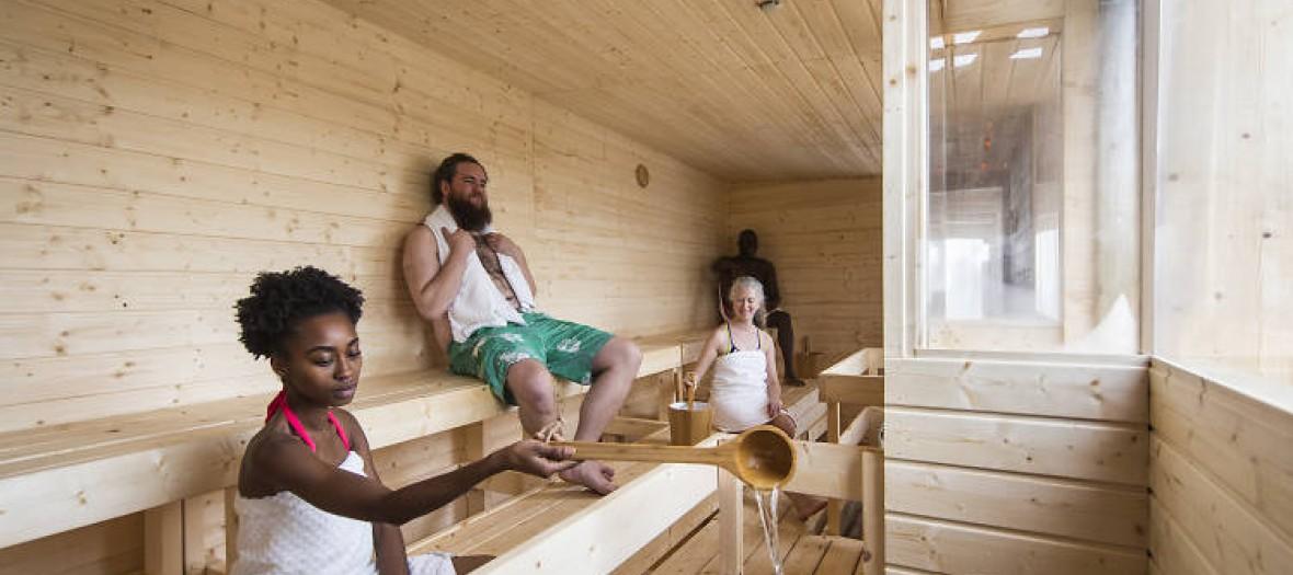 Sauna Finnish Rooftop David Levene