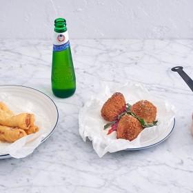 House of Peroni's italian menu