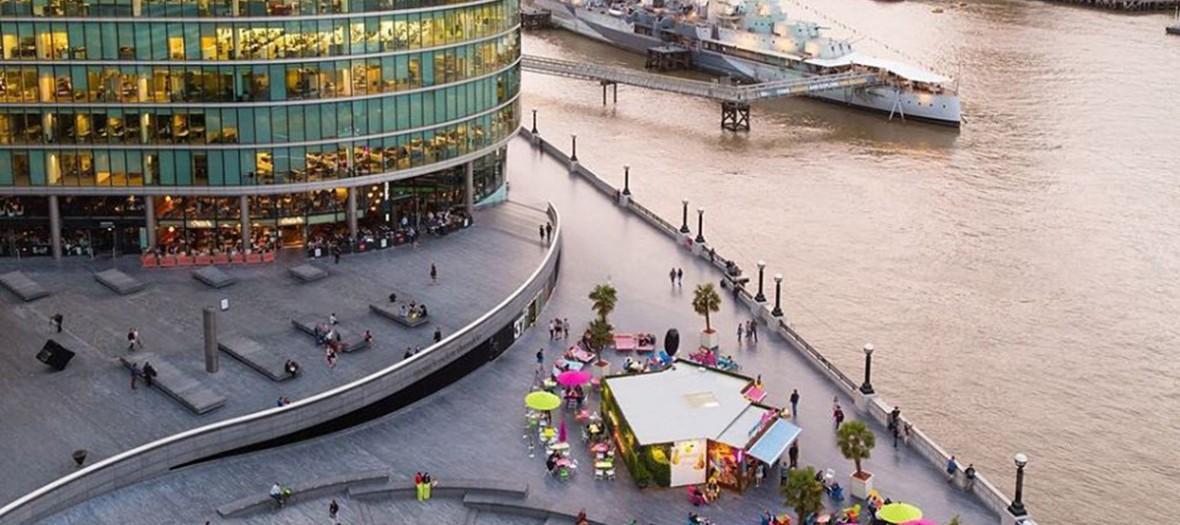 More London vu de haut