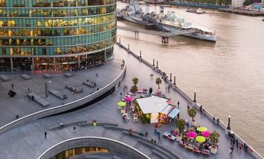 More London : activités les pieds dans l'eau