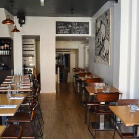 Interior of the Artusi Restaurant
