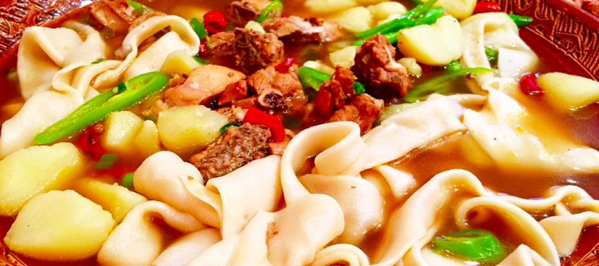 Silk Road noodles