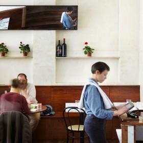 Theo's Pizzeria indoor
