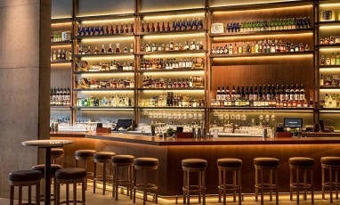 Bar at Nobu Shoreditch