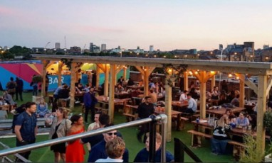 Hottest New Rooftop This Summer:  Skylight at Tobacco Dock