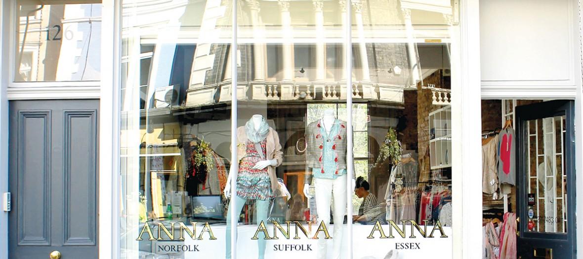 Primrose Hill Anna boutique outisde view