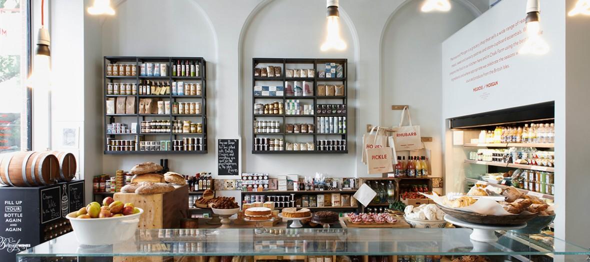 Melrose& Morgan shop in Primrose Hill London