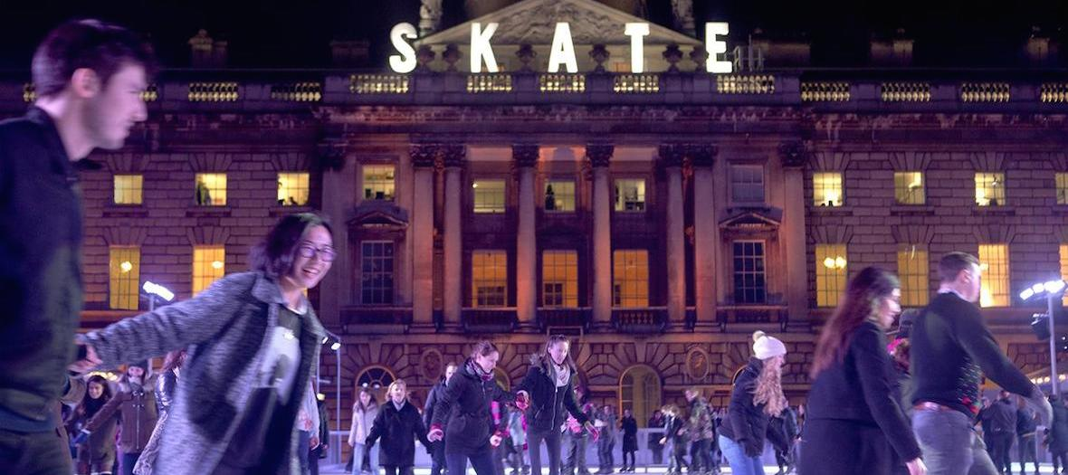 Somerset house skate ice rink do it in london