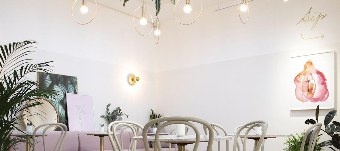 Glow Bar Wellness Do It In London Fitzrovia Interior