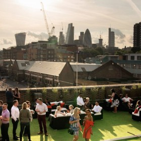 Skylight Tobacco Dock Rooftop Bar Do It In London