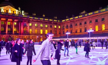 La patinoire de la Somerset House