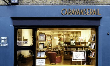 Caravanserail East London Bookshop Outdoor