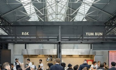 The Food Market that is Waking Up Spitalfields