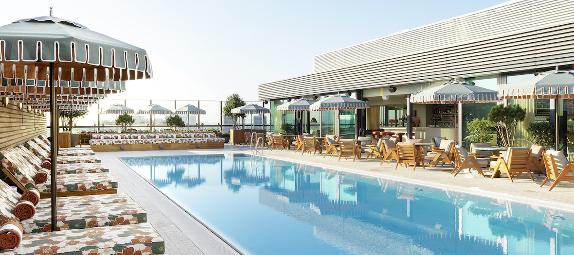 White City House Rooftop pool